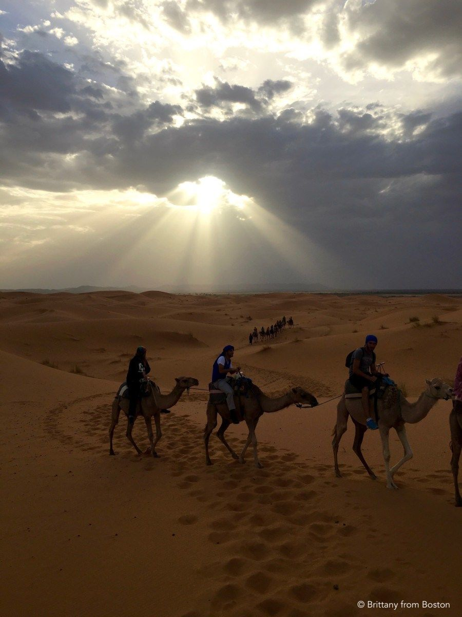 Camel Ride in the Sahara Desert // Brittany from Boston