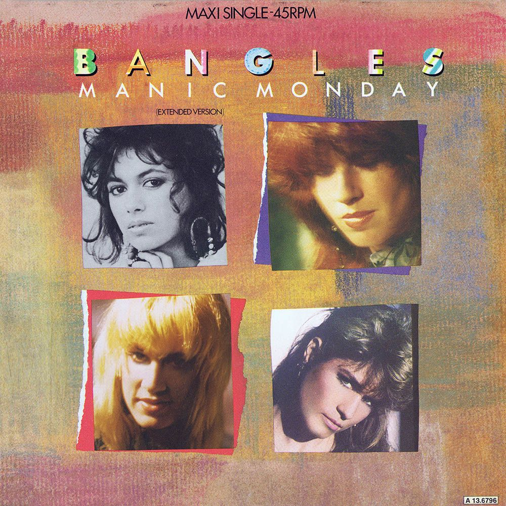 Bangles Manic Monday Extended Version Europe 12 With