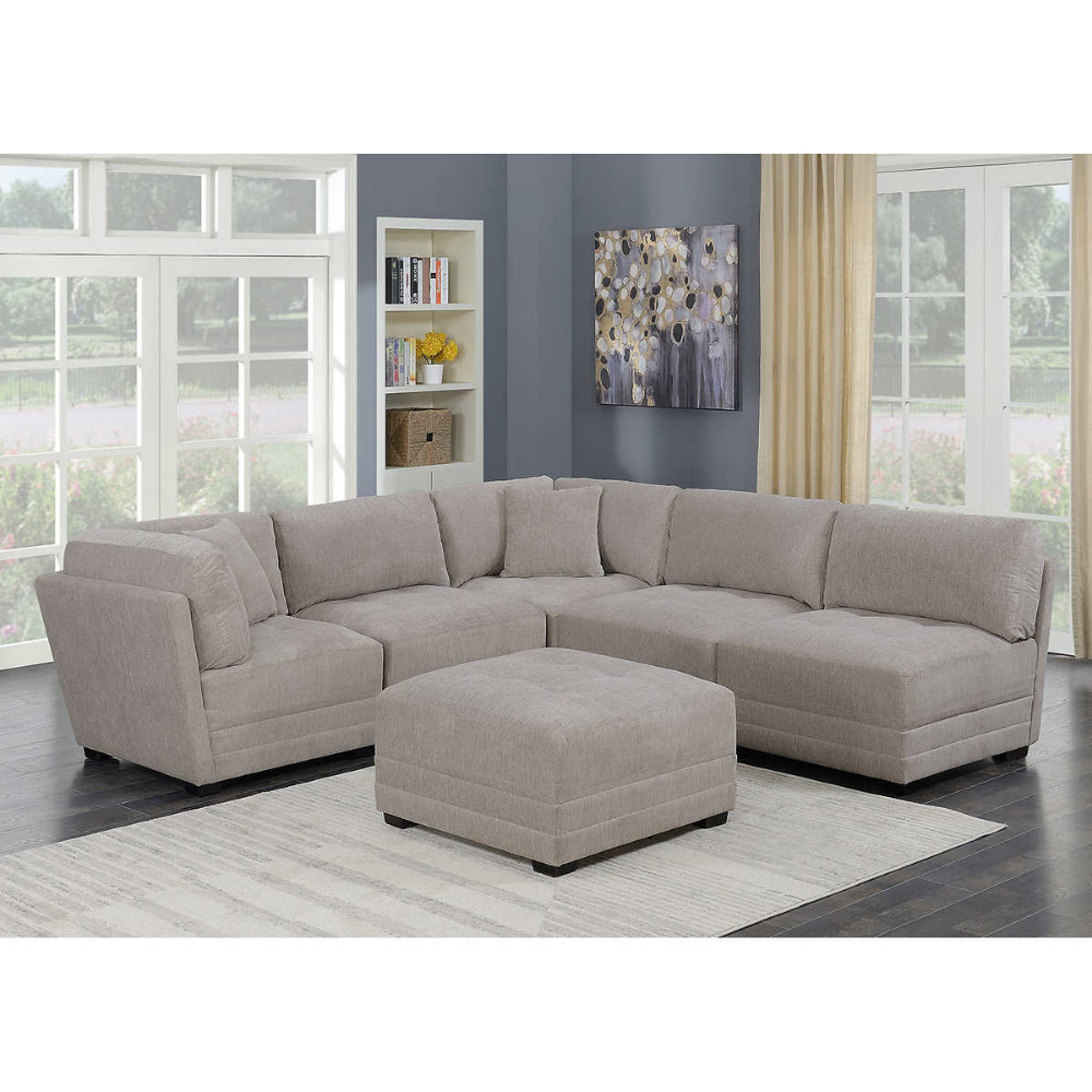 Pin By Lindsay Rasimowicz On Home Fabric Sectional Sofas Living Room Sets Furniture Fabric Sectional