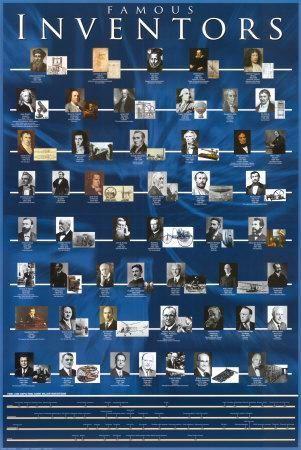 'Famous Inventors' Poster - | AllPosters.com