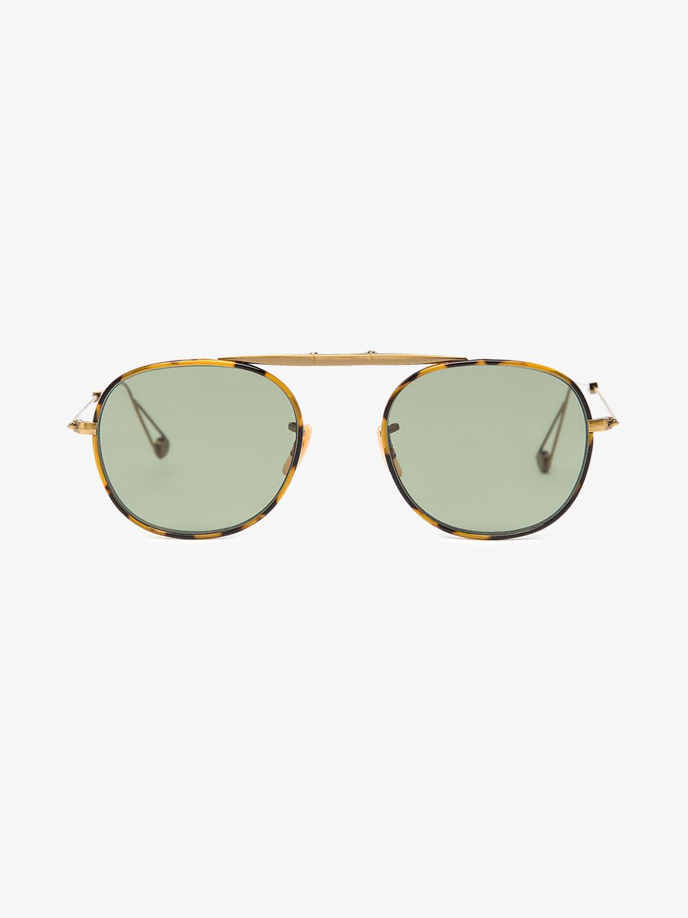 5ede6a68d0 These tonal-brown Garrett Leight foldable tortoiseshell-frame  Van Buren   sunglasses are the ultimate travel essential. Functional and stylish