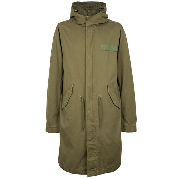 Khaki Winchester Parka | Pretty Green | Designer fashion from Liam Gallagher