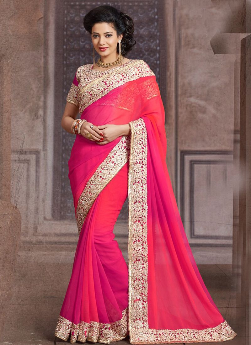 c90b9b91a1 Low Price Wholesale Georgette Designer Sarees Collection - Buy Now @  http://www