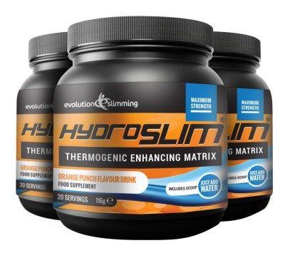 Hiprolean XS Arzător de Grăsime; Detox Combo Pack High Strength Fat Burners - Evolution Slimming