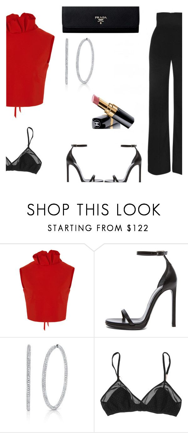 """""""Legacy"""" by lucieednie ❤ liked on Polyvore featuring SemSem, Yves Saint Laurent, Chanel and 3.1 Phillip Lim"""
