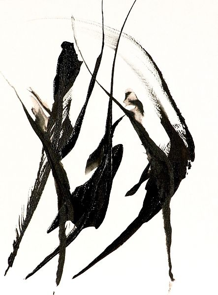 Black and White Abstract Fine Art Print The Dance -Modern ...