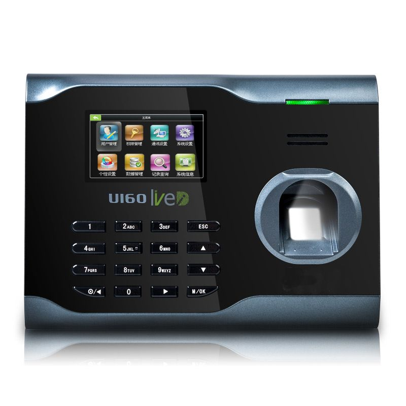 ZK U160 Fingerprint Time Attendance WIFI TCP/IP fingerprint