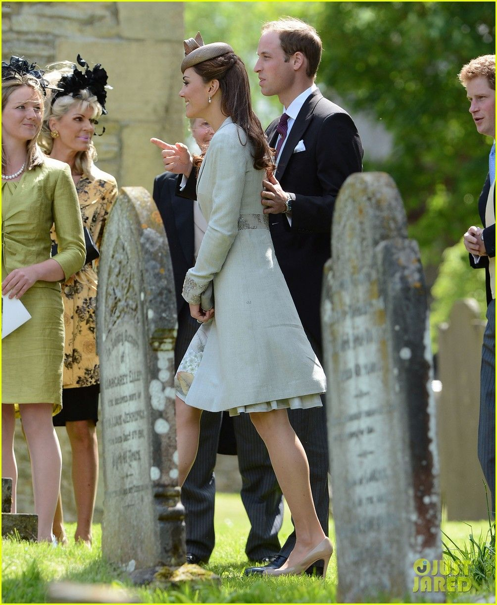 Prince William, Kate & Prince Harry Attend Emily McCorquodale\'s ...