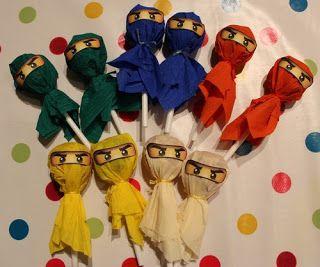 Photo of Spinnliesl: Ideas: Ninja birthday of all Ninjago