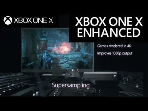 Xbox One X Offers Boost Mode Supersampling 4k Textures More For 108 Xbox Xbox One Graphic Card