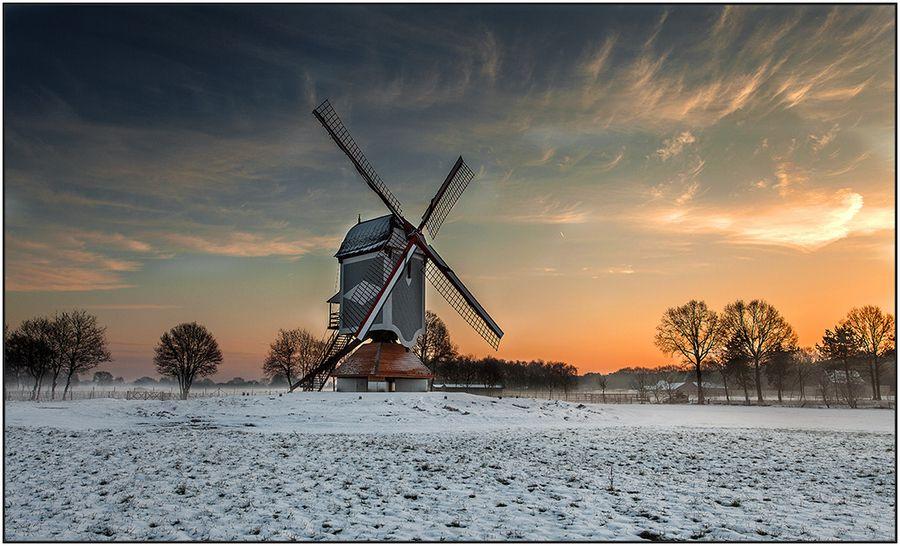 """The First Snow"" by wim denijs, via 500px."