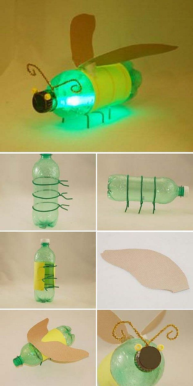 Recycled Plastic Bottle Crafts DIY Projects Craft