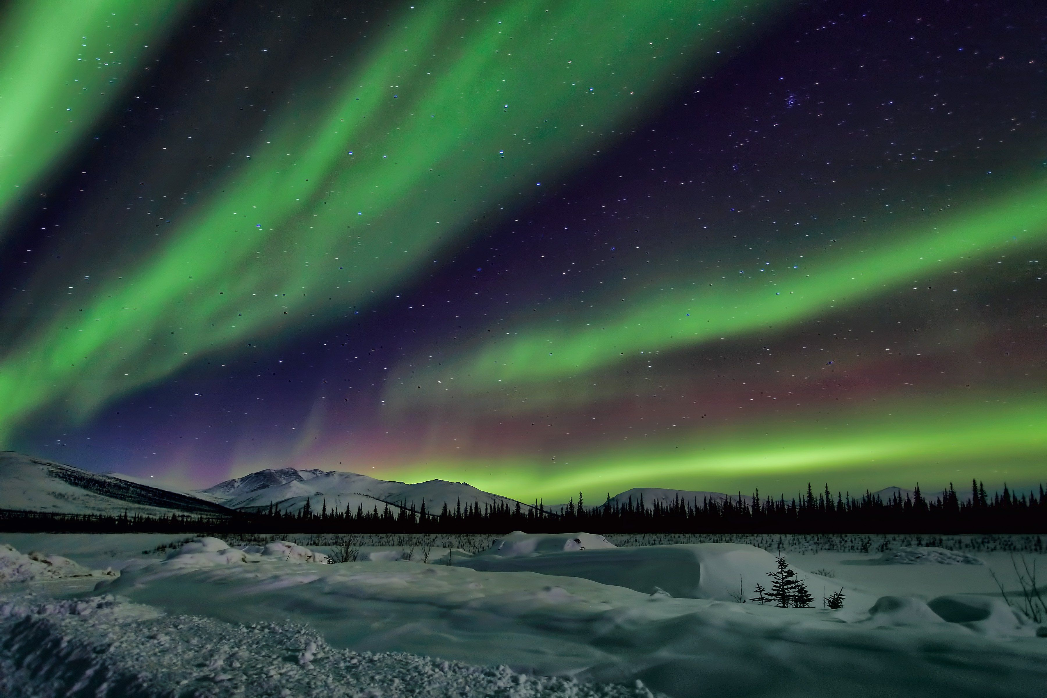 Northern Lights Wallpaper 4K - WallpaperSafari