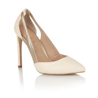 Buy Ravel ladies Omaha heeled pumps online in nude/bronze