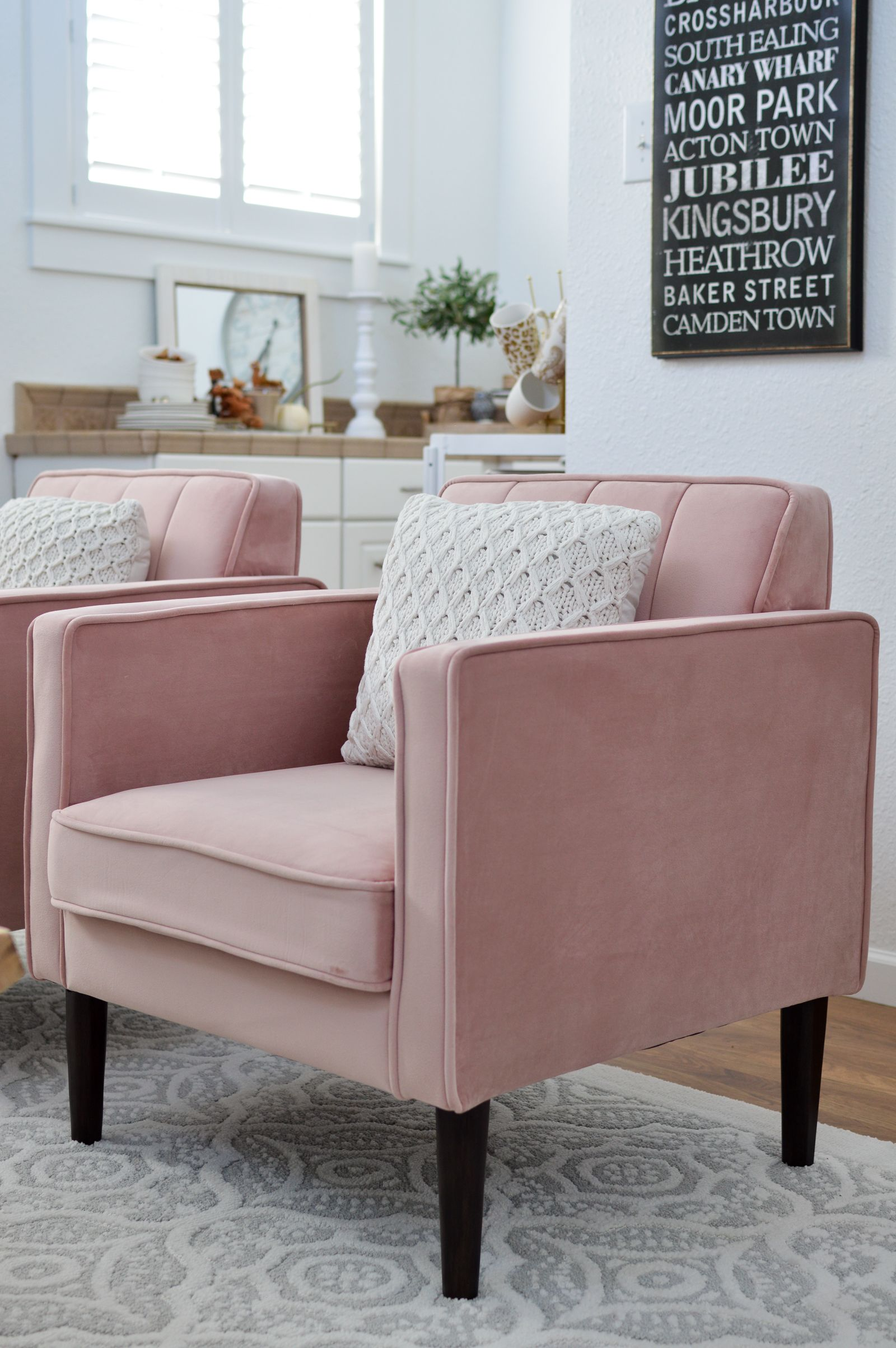 Fall Decorating Ideas To Blush Over Accent Chairs For