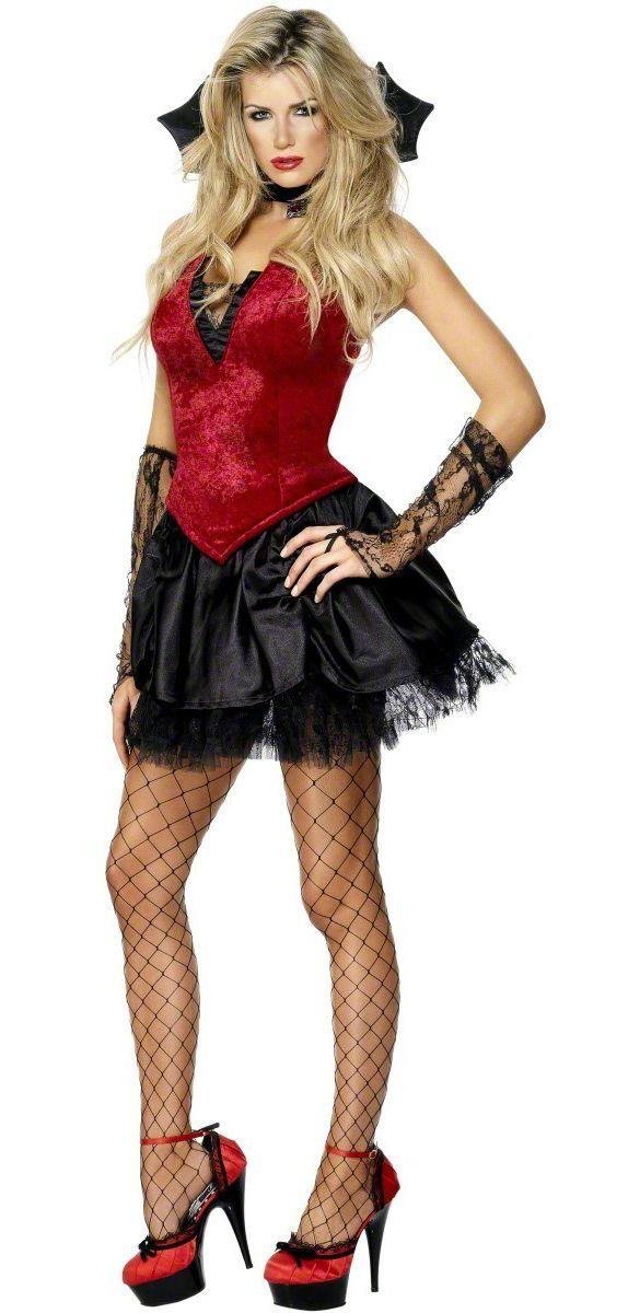 ba240a8ba86 Une vamp classe et sexy voilà ! c est ce que dira votre entourage lorsqu il  vous verra déguisée de la sorte. Achetez ce déguisement de séduisante  vampire ...