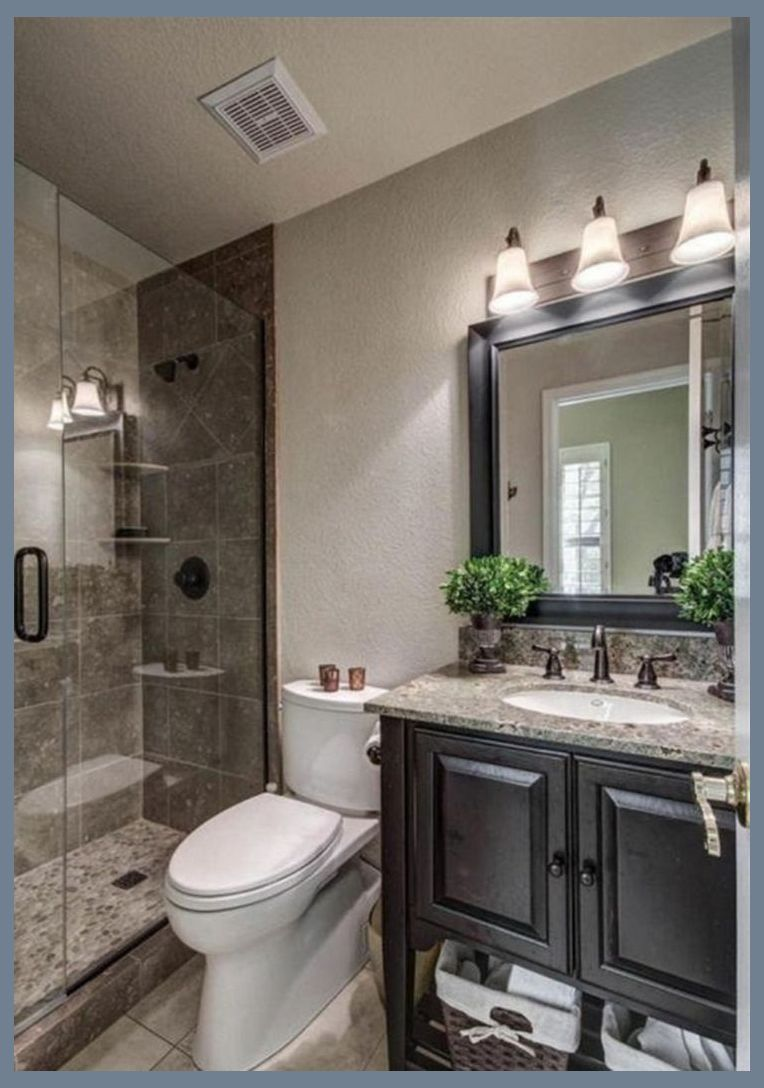 15 Awesome Small Bathroom Remodeling Design Ideas For Tiny House Tiny Bathroom Remodel B In 2020 Small Master Bathroom Master Bathroom Makeover Bathroom Mirror