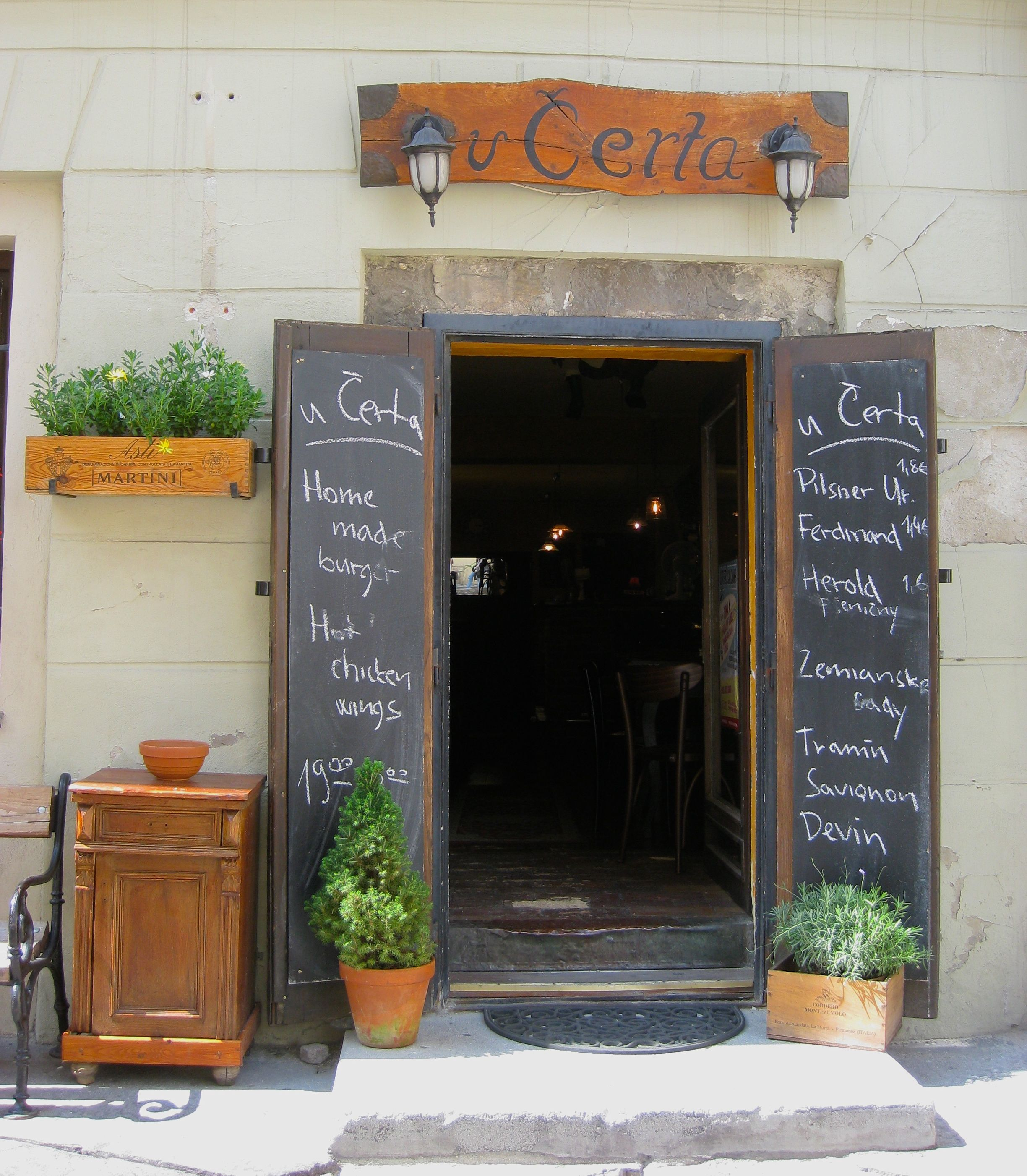 Doors Menus Cafe Restaurant Restaurant Door Cafe Design