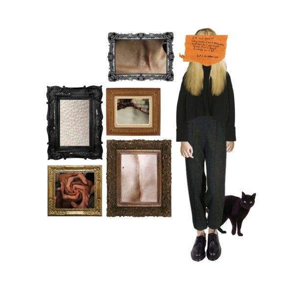 but i adore you by manonthemoon on Polyvore featuring art