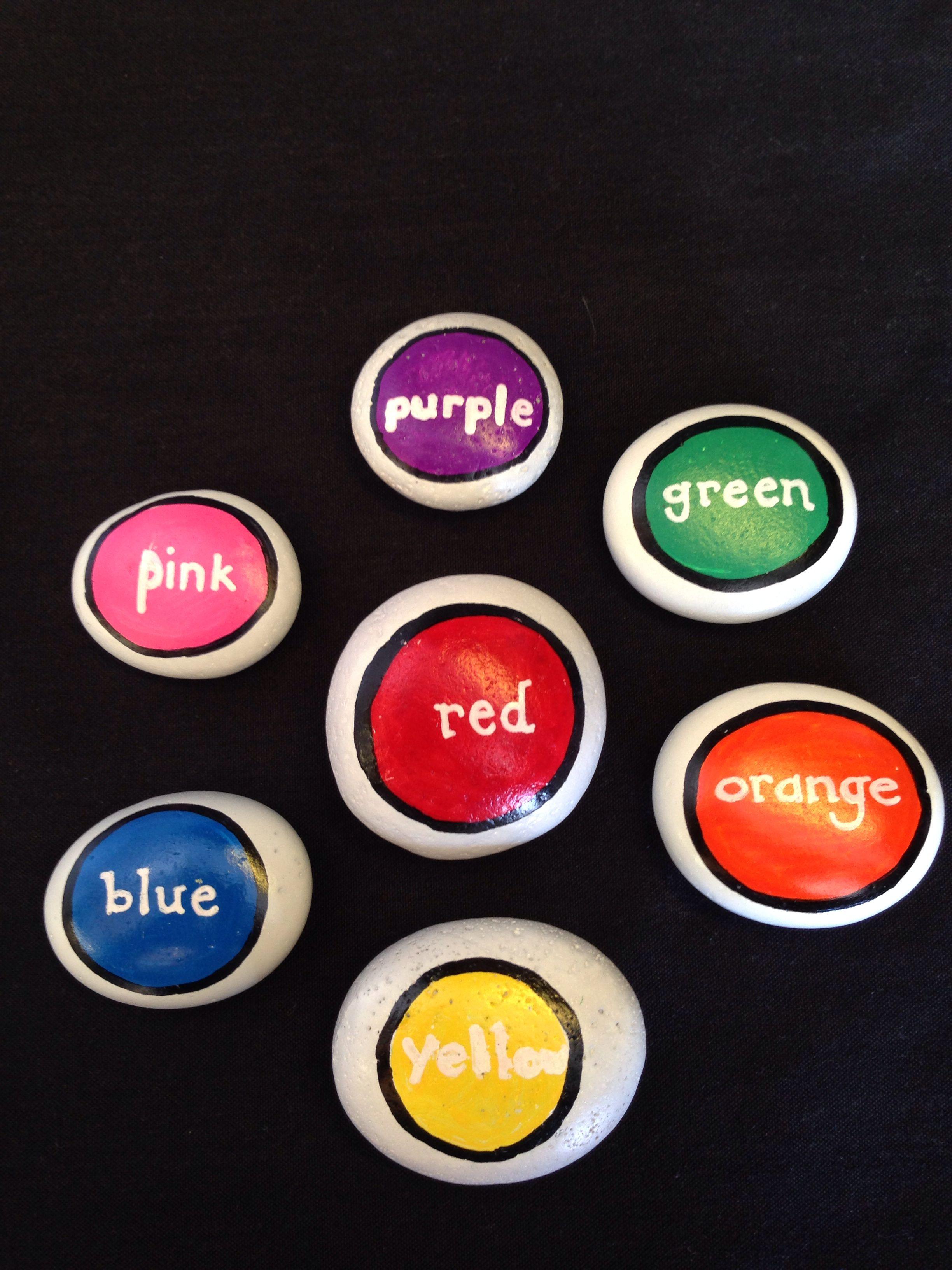 Study stones colors. SNS DESIGNS