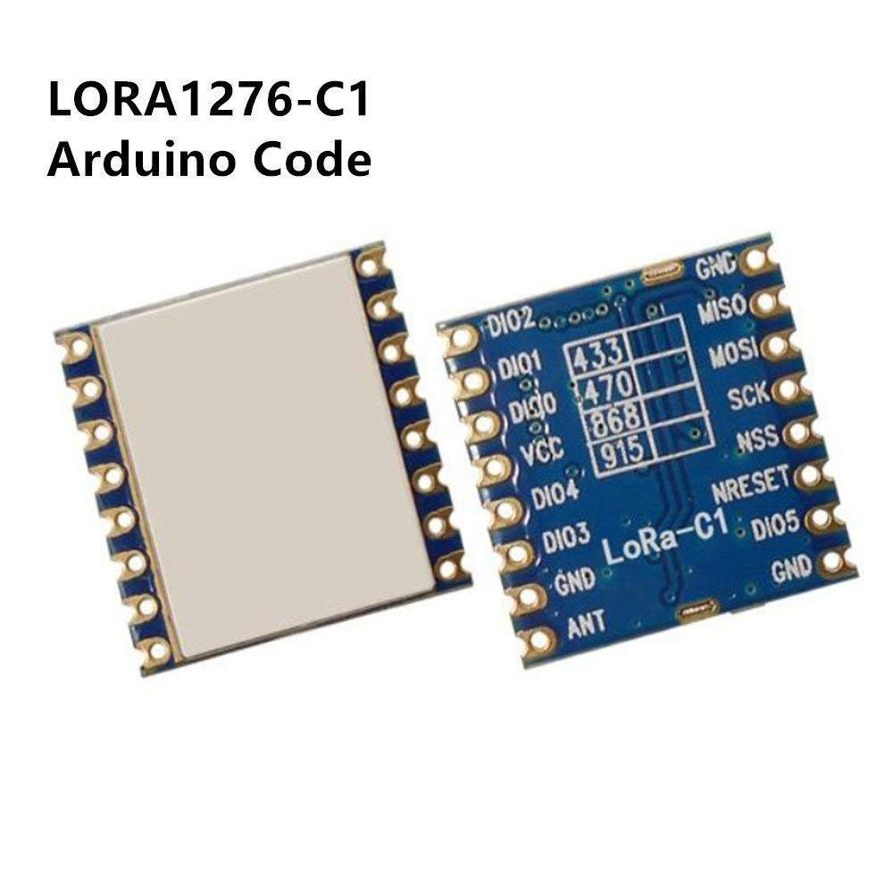 Amazon com: LoRa 1276 Chip Module with Arduino 100mW Long Range
