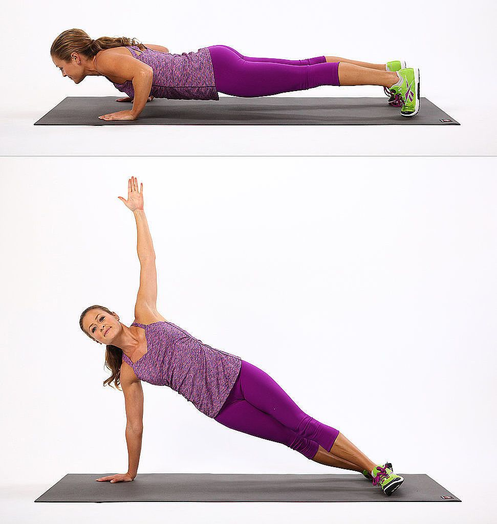 Push Up to Side Plank   Bodyweight workout, Abs workout, Strength ...