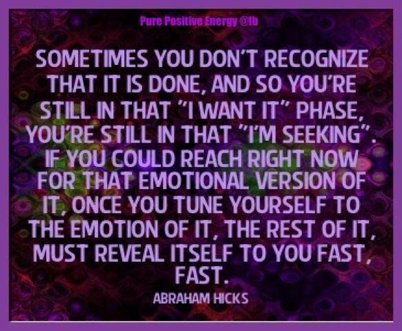 Abraham-Hicks Quote | law of attraction inspiration