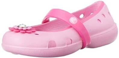 Toddler//Little Kid//Big Kid crocs Keeley Petal Charm PS Flat