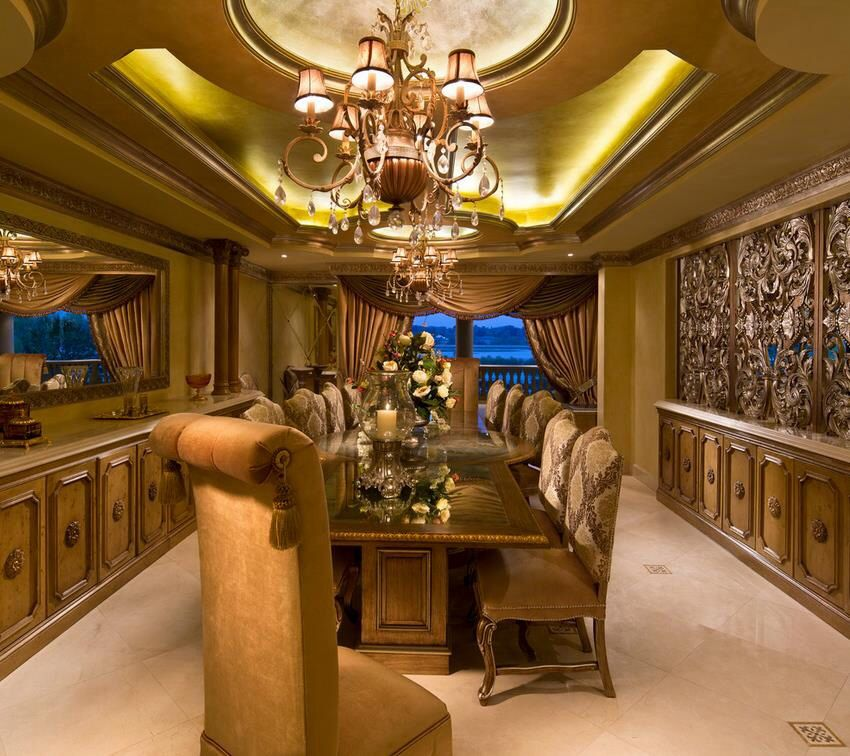 126 Custom Luxury Dining Room Interior Designs: Pin By Tabitha Mack On Rooms!!