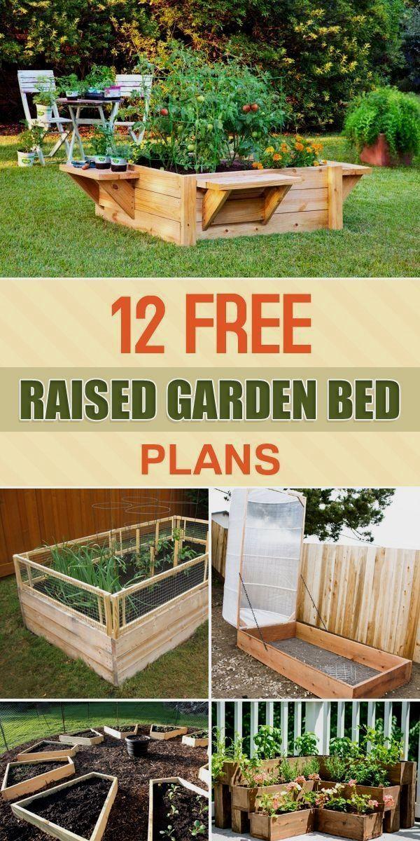 Here are 12 different raised garden bed designs that you can easily here are 12 different raised garden bed designs that you can easily build yourself solutioingenieria Gallery
