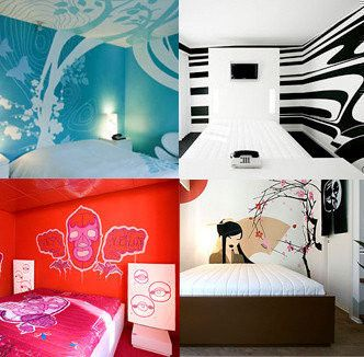 Lovely FOX Hotel Copenhagen  Themed Rooms   Very Creative And Some Outright CRAZY ! Nice Ideas
