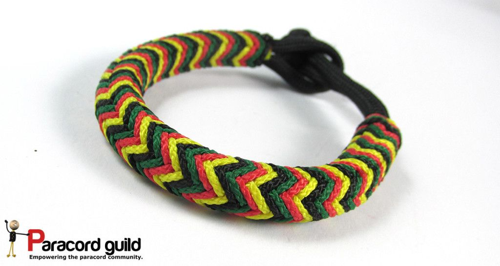 Turk S Head Rasta Bracelets Showcase Paracord Bracelet Designs