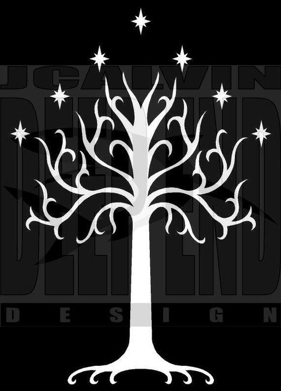 Lord Of The Rings - White Tree Of Gondor - T-Shirt $21 - click on ...