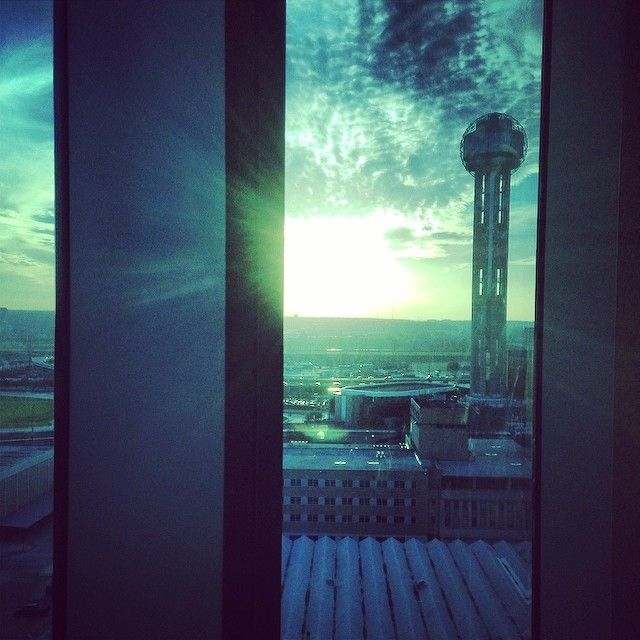 """@lpg1991's photo: """"View from 15 stories high at the #omnihotels #reuniontower #dallastexas #downtown #adventures #skyline #omniescape"""