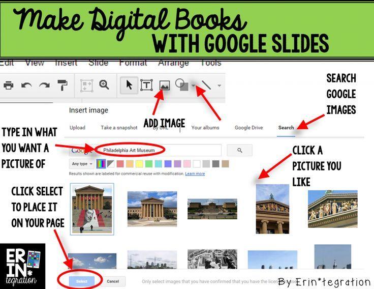 making digital books on google slides pinterest nonfiction