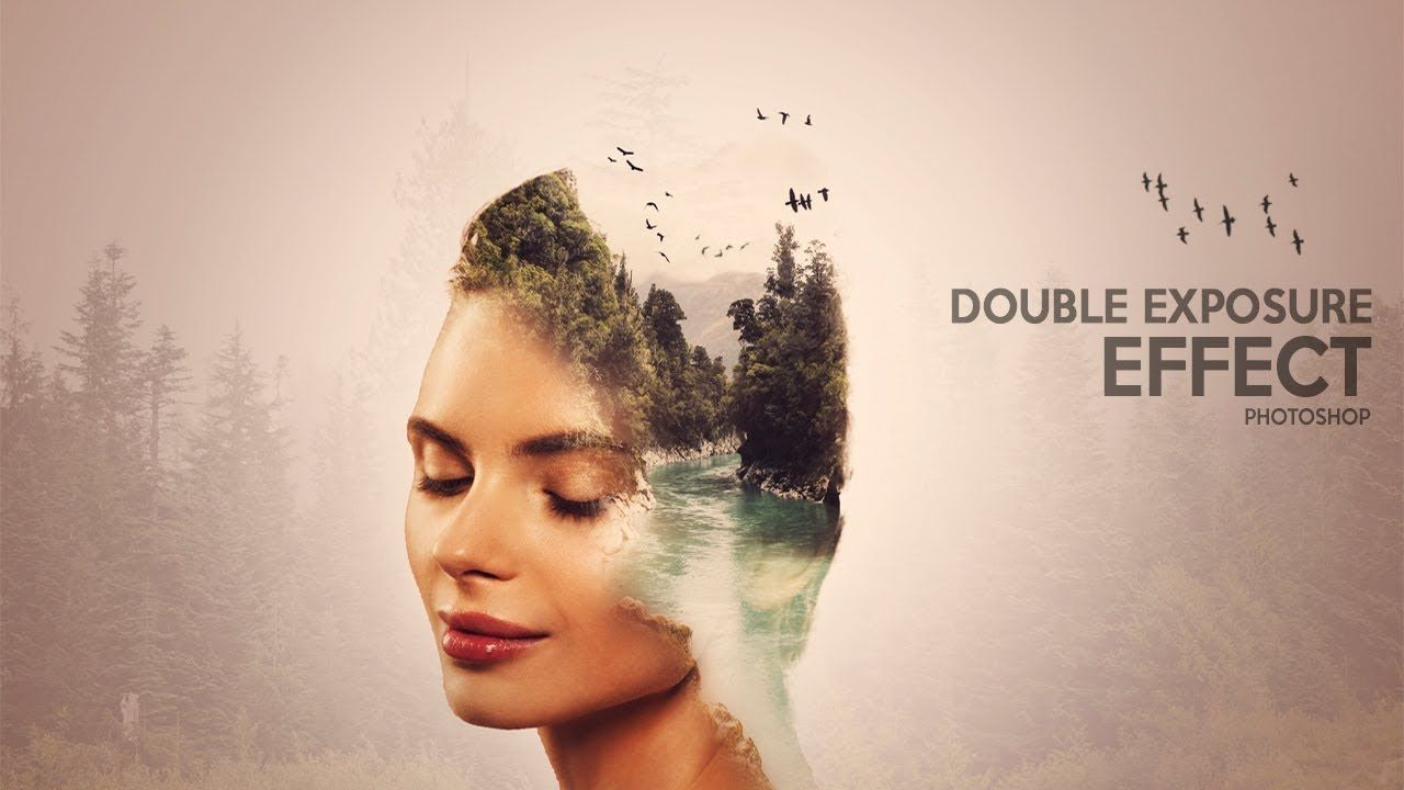 Double exposure effect forest and portrait photoshop tutorial double exposure effect forest and portrait photoshop tutorial baditri Image collections