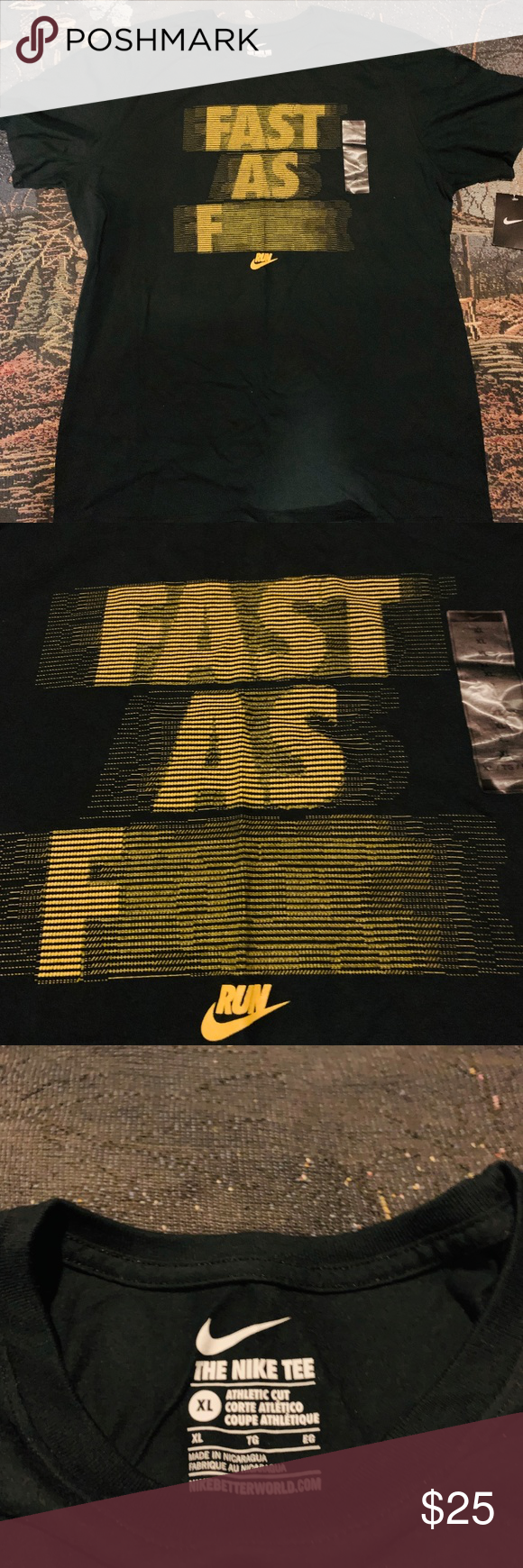 fast as f nike shirt