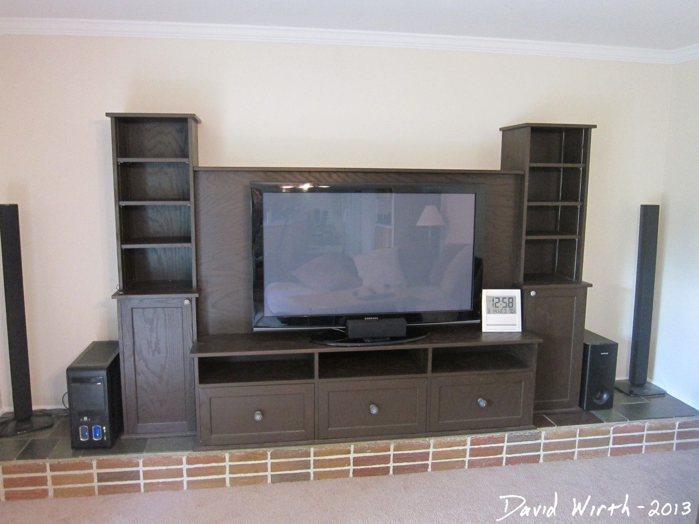 tv stand to cover fireplace on Tv Stand Build Plans Diy Tv Stand Diy Fireplace Build A Tv Stand