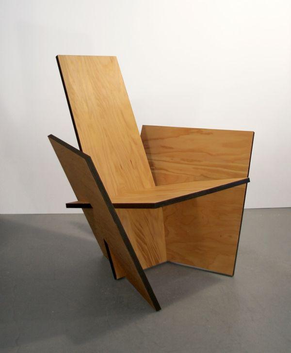 impressionnant chaise bois moderne - Chaise Bois Moderne