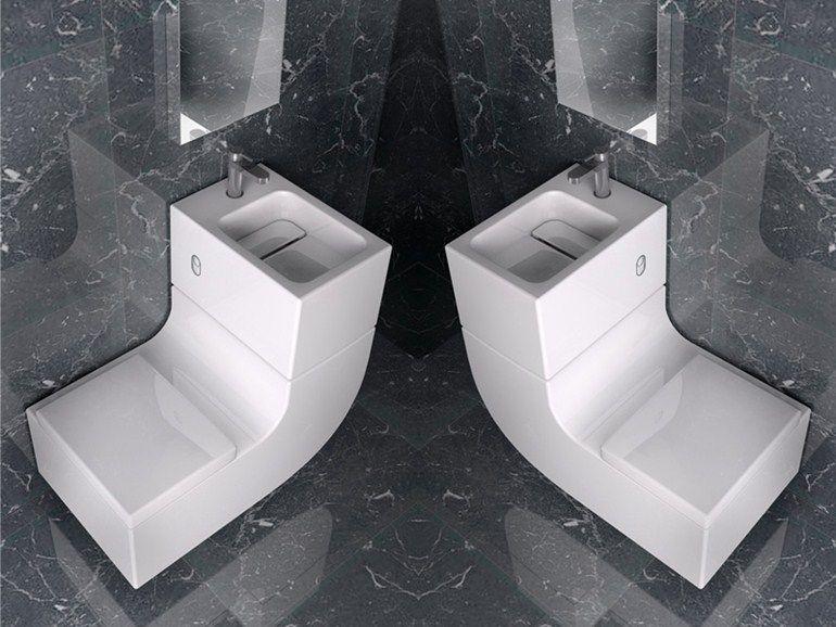 Lavabo Wc W W By Roca Design Buratti Architetti Servizi