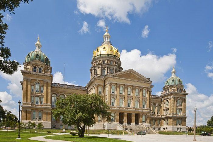 Iowa State Capitol, Des Moines
