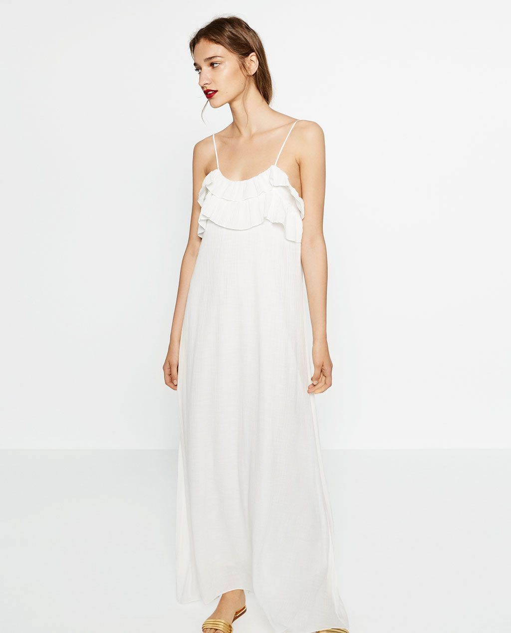 Vestidos de fiesta blanco zara