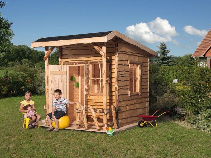 Weka Abenteuerhaus 190 Cm X 235 Cm Rustikal Kaufen Bei Obi Spielhaus Haus Fur Kinder Kleiner Balkon Garten