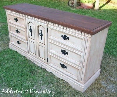 Photo of The Finished Dresser & Chest of Drawers (and Dealing With Chrome & Brass Bathroom Fixtures) – Addicted 2 Decorating®