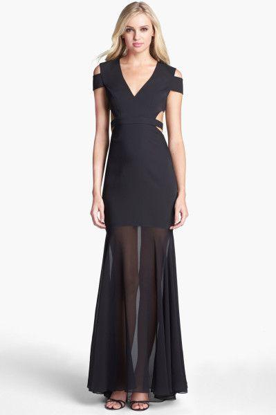 0c5a52b2c163 BCBG max azria ava cut out gown | Prom i 2019 | Bcbg dresses ...