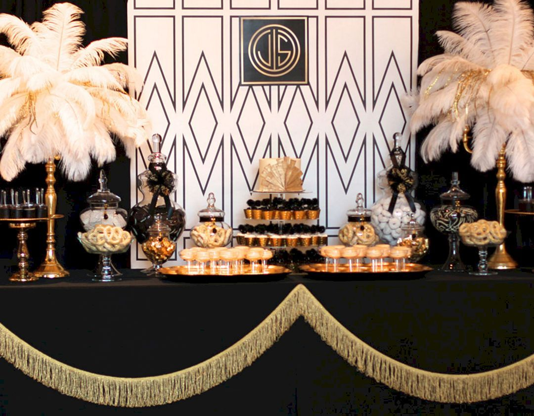 Great Gatsby Party Decoration Ideas 019 Great Gatsby Party