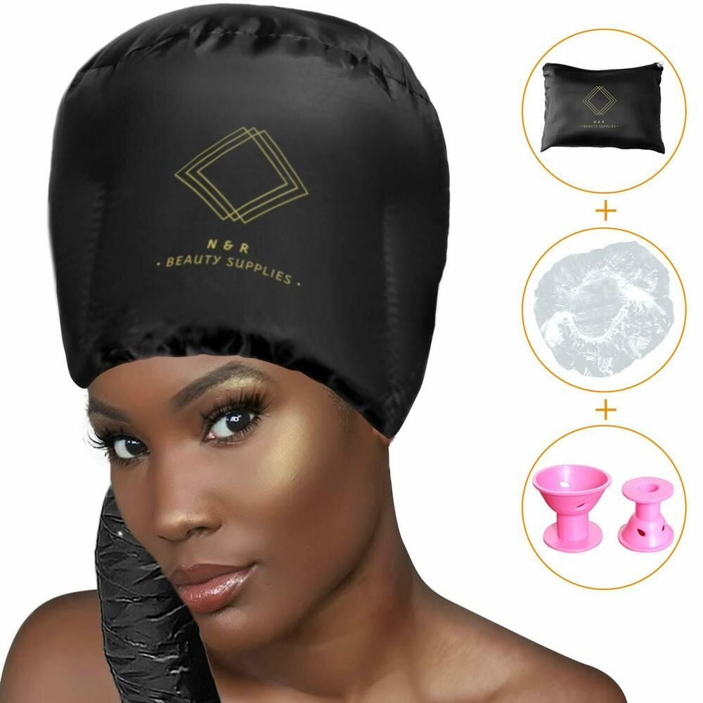 Hair Hood Dryer Attachment Ultimate 3 Pack Soft