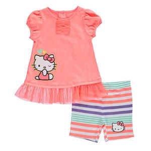 "Sears Baby Clothes Fascinating Hello Kitty Baby Girls' ""chase Hopes"" 2Piece Outfit  Sears  Baby Decorating Design"
