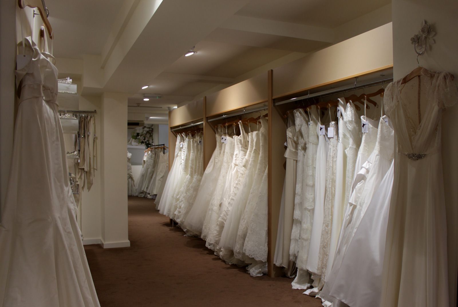 Inside the Shop - Look around our bridal department store | Weddings