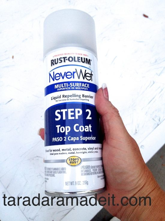 Waterproof Many Surfaces Quick And Easily With Rustoleum Wood Sealant How To Waterproof Wood Waterproof Spray Paint